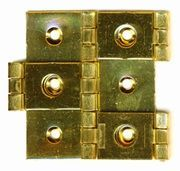 Double Action Hinge 20 brass