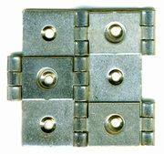 Double Action Hinge 20 nickel