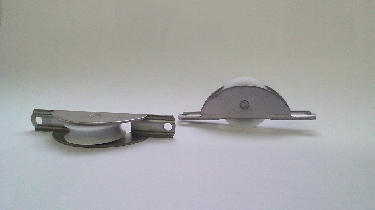 Super Schiebetürrollen für Schiebetüren, Trennwände und Möbeltüren RX62