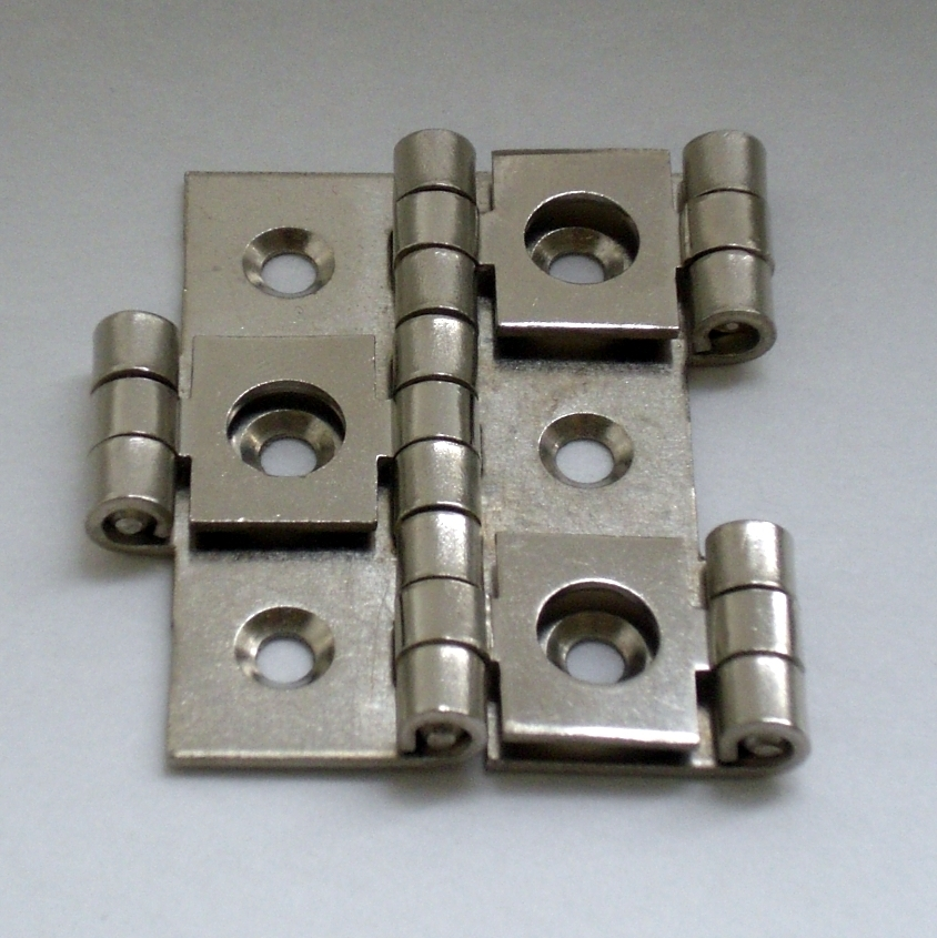 Double Action Hinge 25 nickel